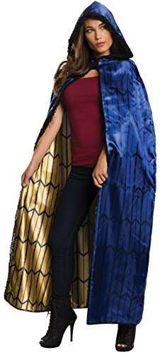 Rubie's Women's Batman v Superman: Dawn of Justice Deluxe Wonder Woman Cape, Multi, One Size