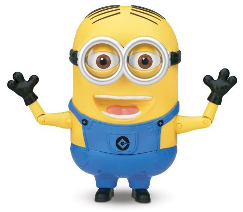 Despicable Me Minion Dave Talking Action Figure]()