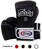 Fairtex Muay 泰拳拳击手套 BGV9 - 重击墨西哥风格 - 轻微变黑玛丽纳蓝 12 14 44.56 毫升训练和拳击手套 Kick 拳击MMA K1