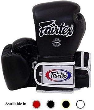 Fairtex Muay Thai Boxing Gloves BGV9 - Heavy Hitter Mexican Style - Minor  Change Black Marina Blue 12 14 16 oz Training & Sparring Gloves for Kick