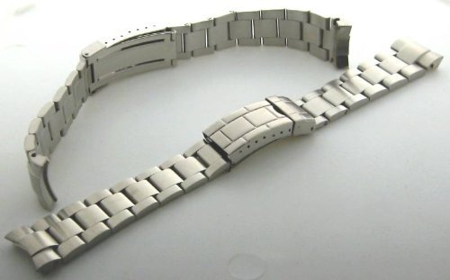Oyster banda de reloj Rolex Submariner sel sólido Final Tapa Lock: Amazon.es: Relojes