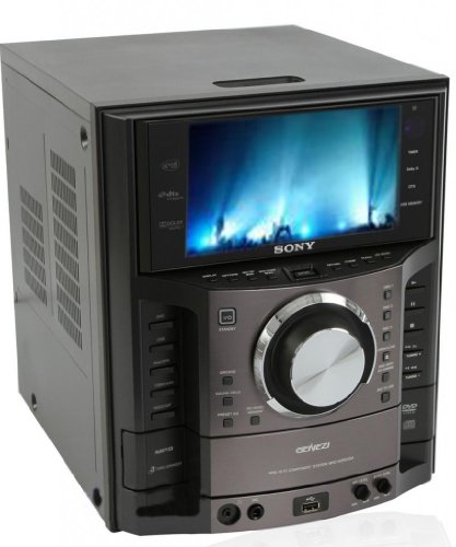 Sony Mhc Gzr333i Dvd Cd Karaoke Boombox Speaker Dock Shelf
