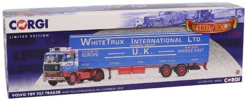 1/50 ボルボ F89 チルトトレーラー WHITE TRUX INTERNATIONAL LTD. CC15601