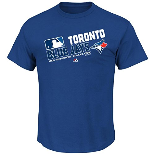 Youth MLB Authentic Collection Team Choice T-Shirt (Youth Xlarge 18/20, Toronto Blue Jays)