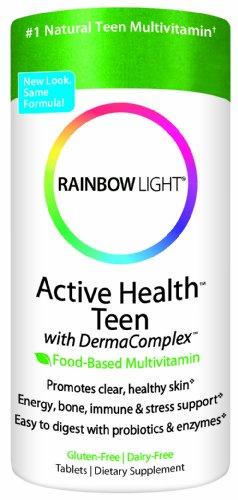 Rainbow Light  Active Health Teen Multvitamin, 30 Tablets