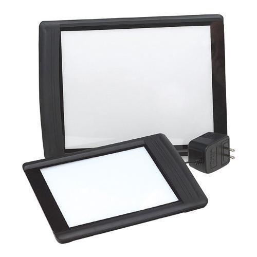 - Logan Electric Slim Edge Light Pad Lightbox with 8