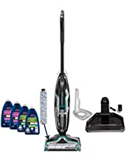 BISSELL - Vacuum & Wash - CrossWave Cordless - 36V Cordless Convenience - Vacuum and wash Your Floors at The Same time - Self-Clean Cycle
