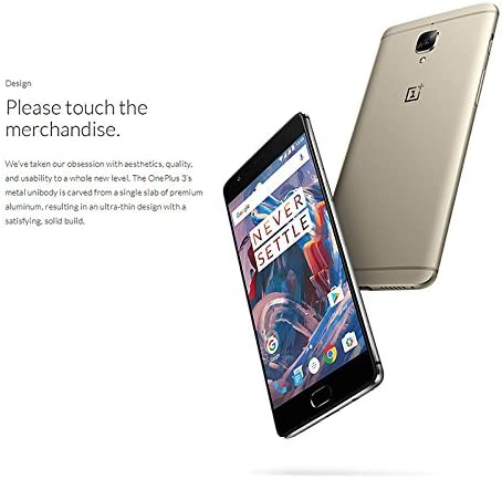 Generico OnePlus 3 Smartphone - Android 6. 0, Snapdragon 820, 6GB ...