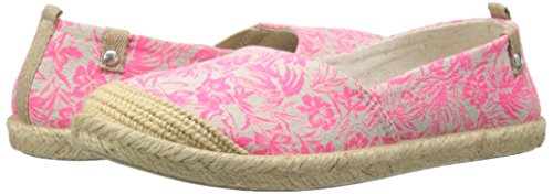 Roxy RG Flamenco Slip On Shoe (Little Kid/Big Kid), Pink, 1 M US Little Kid