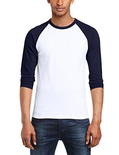 fruit-of-the-loom-mens-long-sleeve-baseball-t-shirt-s-white-deep-navy