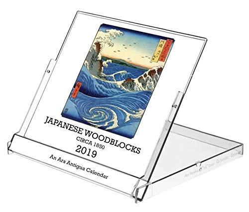 (Ars Antigua 2019 Vintage Japanese Woodblock Prints • CD-Style Desk Calendar (Jan. 1, 2019 - Dec 31, 2019))