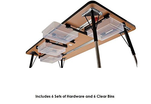 Berries Store-It Drawer Kit Hardware with 6 Clear Trays