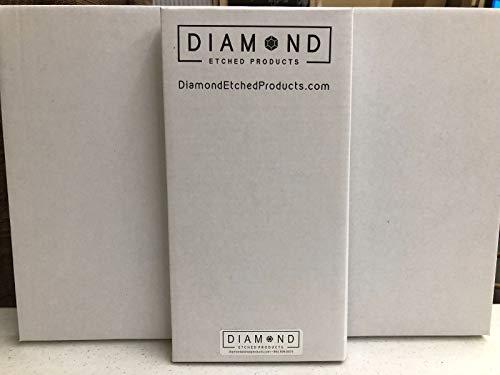 Pitt Logo Car Tag Diamond Etched on Black Aluminum License Plate