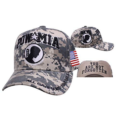 (Digital Pride Collection POW MIA Motto Cap)