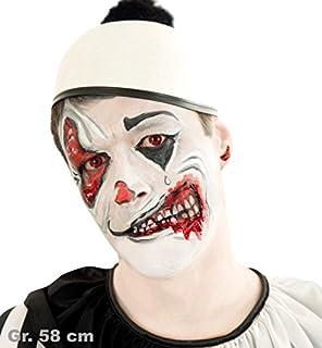 Pierro S Kostum Hut Harlekin Schwarz Weiss Zubehor Clownhut