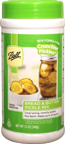 Ball Bread & Butter Pickle Mix - Flex Batch - New! (12.0oz) (by Jarden Home Brands)