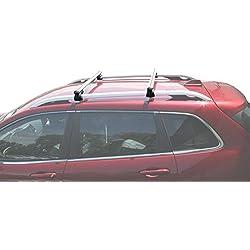 BRIGHTLINES 2014-2019 Jeep Cherokee Cross Bars Roof Luggage Bars Roof Racks