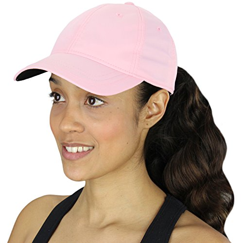 Adidas Women's Performance Max Front Hit Relaxed Pink Hat (One Size Fits Most, - Pink Hat Running