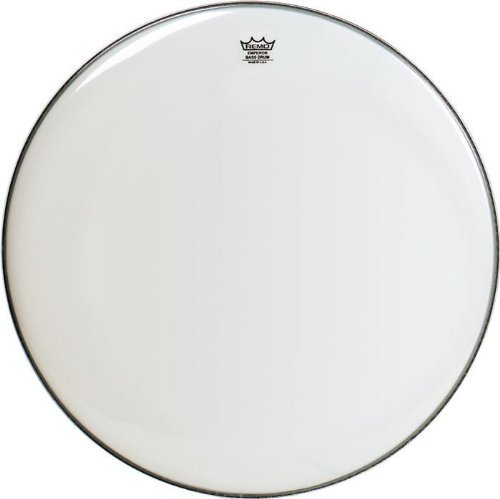 - Remo BB1222-00 Smooth White Emperor Bass Drum Head - 22-Inch