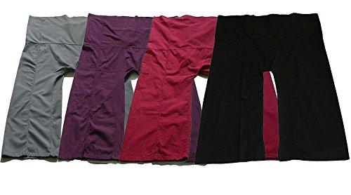Very Beautiful Pack Four Yoga Trousers Thai Fisherman Pants Lululemon Yoga Trousers Free Size Plus Size Cotton