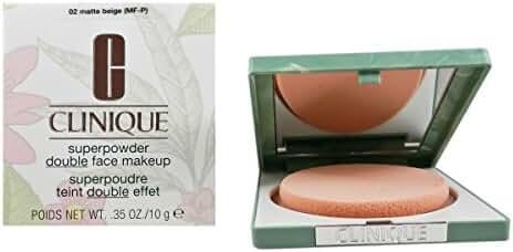 Clinique Superpowder Double Face Makeup for Dry Combination, No. 02 Matte Beige (mf-p), 0.35 Ounce