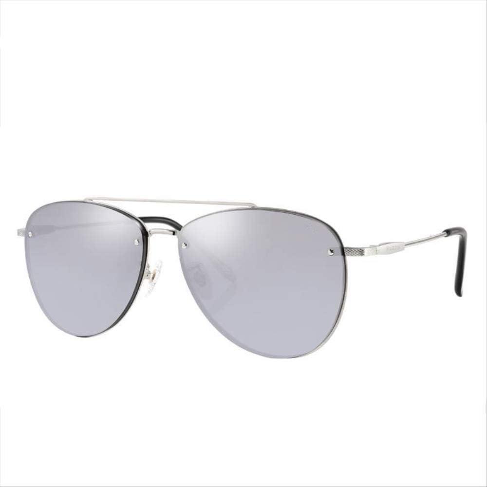 ZCFDDP Gafas de Sol Nuevas Gafas de Sol para Hombre Gafas con Montura de Metal para la conducción Calidad Lentes de Nylon Profesión UV Protección Gafas de Sol