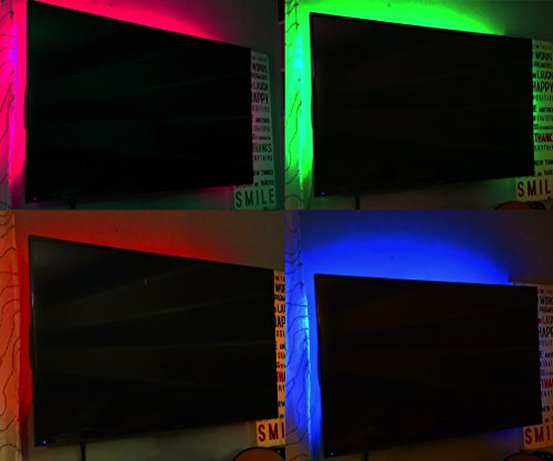VIVO TV Home Theater LED Color Lighting Kit / USB Powered
