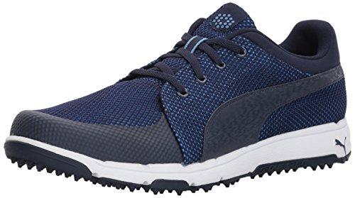 PUMA Men's Grip Sport Golf Shoe, Peacoat/Marina, 9.5 Medium
