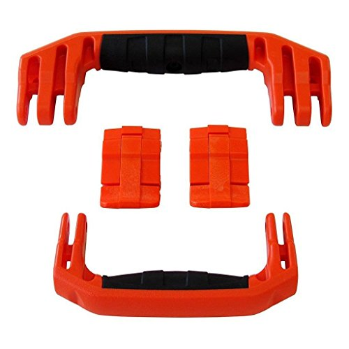 2 Orange Replacement Handles / 2 Latches for Pelican 1560. Customize your Pelican 1560 Case.