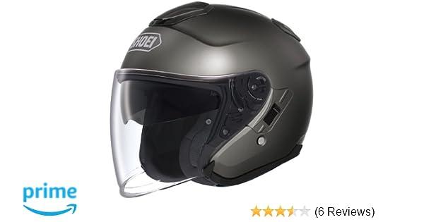 8de0ac11 Amazon.com: Shoei J-Cruise Helmet (LARGE) (ANTHRACITE): Automotive