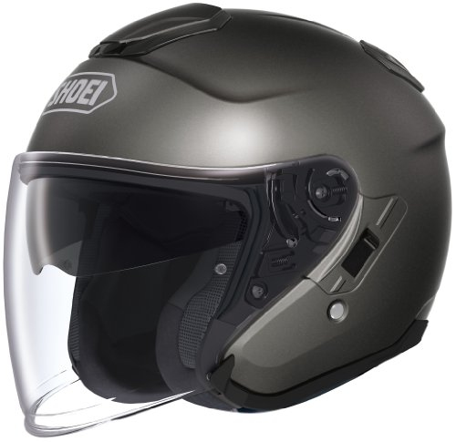 Shoei Unisex Adult J-Cruise Open Face Anthracite Helmet 0130-0117-05