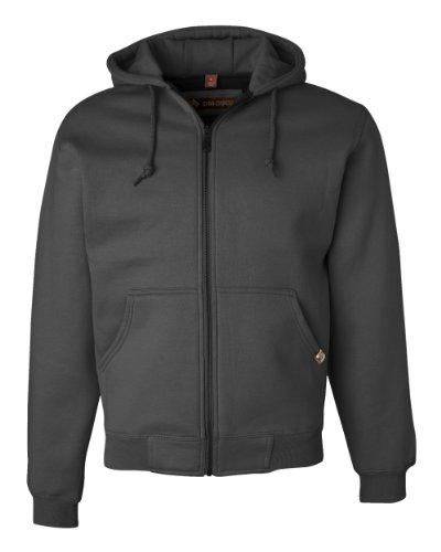 - Dri-Duck Crossfire Sweatshirt Jacket, L, Dark Oxford