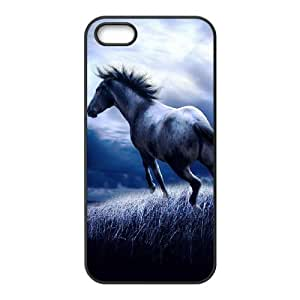 Horse Running New Fashion DIY Phone Case for Iphone 5,5S,customized cover case ygtg521359