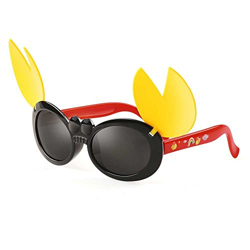 GREY JACK Crabs Shape Flip Polarized Sunglasses Red for Kids Aged - Sunglasses Crab