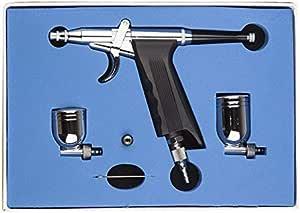 New SPRAY GUN PISTOL TRIGGER AIRBRUSH with Tank AIR COMPRESSOR Auto Paint