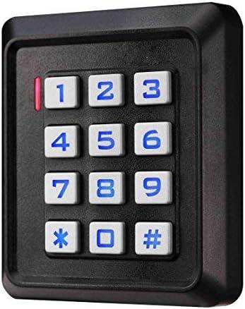 BSI SIB Digicode, Teclado con códigos e Insignias RFID de Puerta
