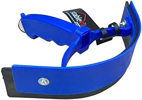 StableKit Plastic Sweat Scraper (One Size) (Blue)