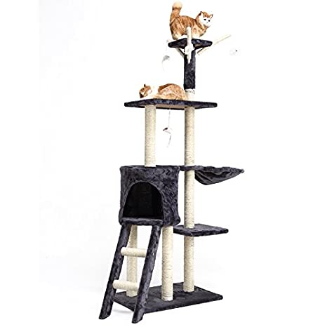 Árbol del gato Los gatos, mascotas, gatos, trepadores, arañazo de gato gato