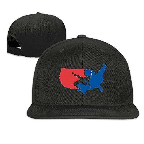 USA Wrestling Classic Casual Baseball Caps For Unisex Visor Hats Snapback Travel by KIOJIANM