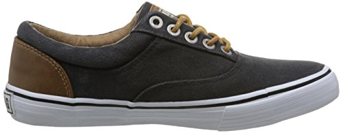 Mustang 1225-301 Womens Loafers Lace Up Schwarz umKgCJDVQX