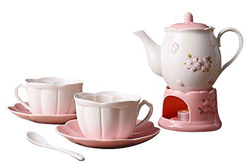Jusalpha tea teapot warmer filter