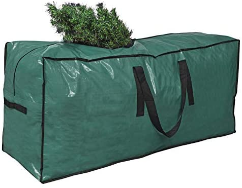 "Primode Christmas Tree Storage Bag | Fits Up to 9 Ft. Tall Disassembled Tree I 65"" x 15"" x 30"" Holiday Tree Storage Case 