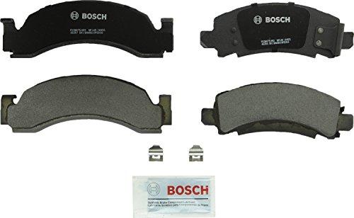 Bosch BP149 QuietCast Premium Semi-Metallic Disc Brake Pad Set For Select Chevrolet C30, C3500HD, Express 3500, G30, K30, K3500, P30, R30, V30, V3500; Dodge: D400, D450 ; Front & Rear ()