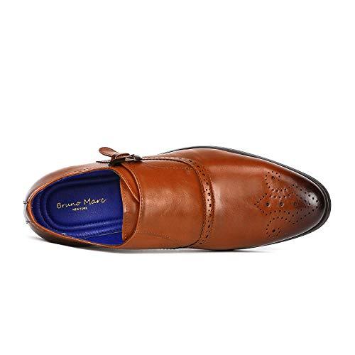 Con camello De 8 Monk Oxfords Zapatos Bruno Correa Hombre Para Marc x6vvqPwFI