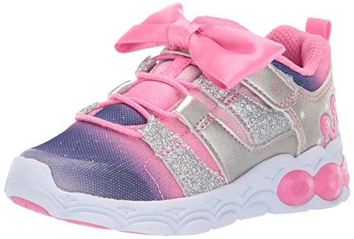 Stride Rite Mesh Sneakers - Stride Rite Katie Girl's Light-Up Mesh Athletic Sneaker, Pink, 12 W US Little Kid