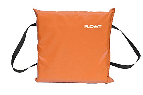 Flowt 40100 Type IV Throwable Floatation Foam Cushion, USCG Approved, Orange