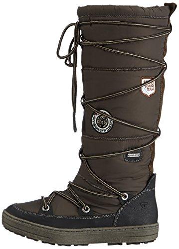 Women's black Black Boots 26608 14 Tamaris olive z7wO8Fcq