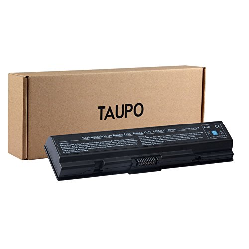 Toshiba Pa3534u 1bas Battery - TAUPO New Laptop Battery Replacement for Toshiba PA3534U PA3727U-1BRS PA3535U-1BRS PA3534-1BRS PA3533U-1BRS, Satellite L305 A200 A205 L505D L500 A350 L555 L505, Dynabook L300[49Wh, 6-Cell]