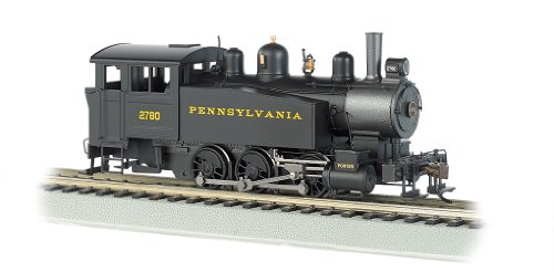 Bachmann Industries 060 Porter Side Tank Dcc Equipped Locomotive Pennsylvania Railroad # 2780 HO Scale Train Car (Scale Pennsylvania Railroad)