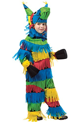 [8eighteen Colorful Pinata Game and Prizes Funny Child Costume (4-6)] (Pinata And Bat Costume)